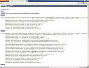 数据库名称不存在时构造SQL语句出现错误