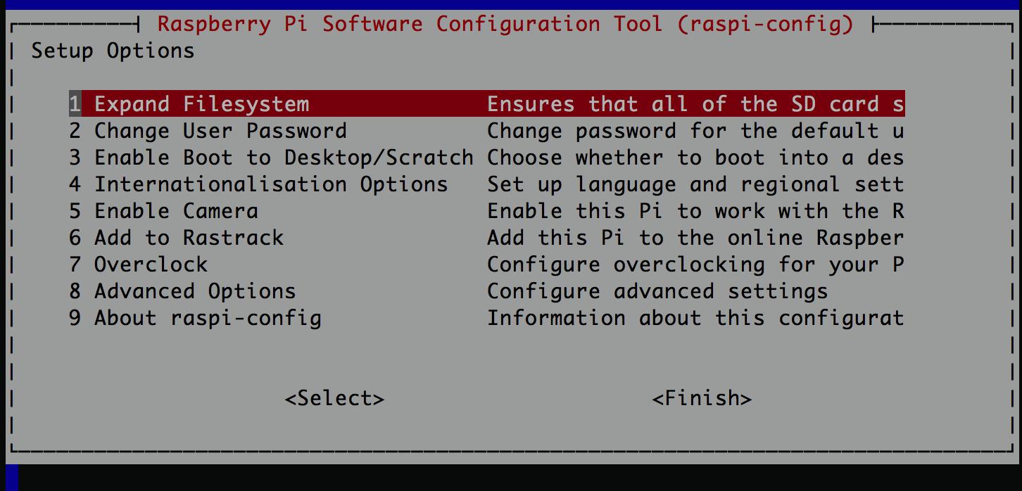 Raspberry Configuration