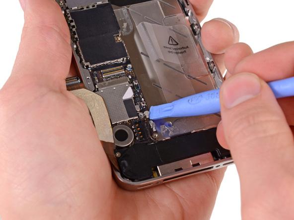 iPhone 4S拔掉黑色连接线