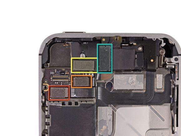 iPhone 4S顶部排线插头