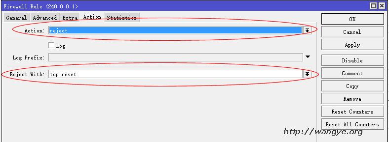 Mikrotik RouterOS 配置防火墙规则